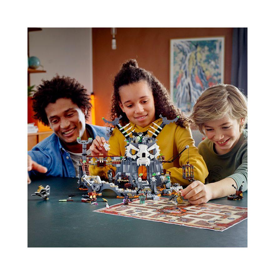 LEGO 71722  SKALLEHEKSEMESTERENS FANGEHU