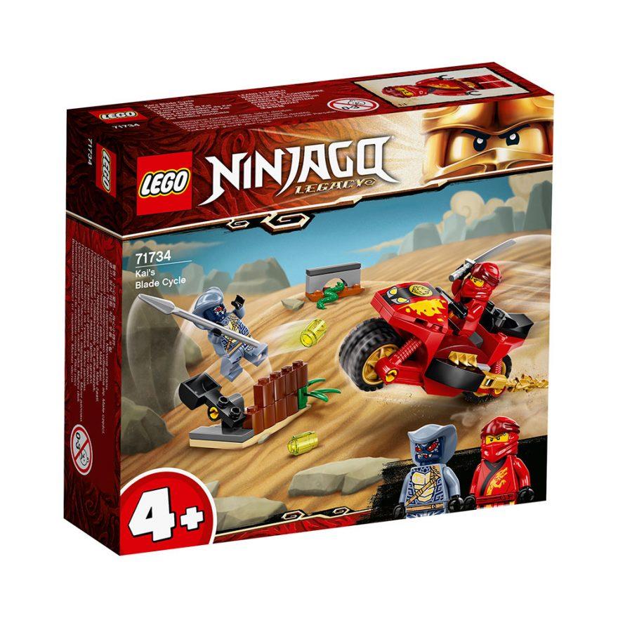 LEGO 71734 KAIS KNIVRACER