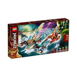 LEGO 71748  SJØSLAG MED KATAMARAN