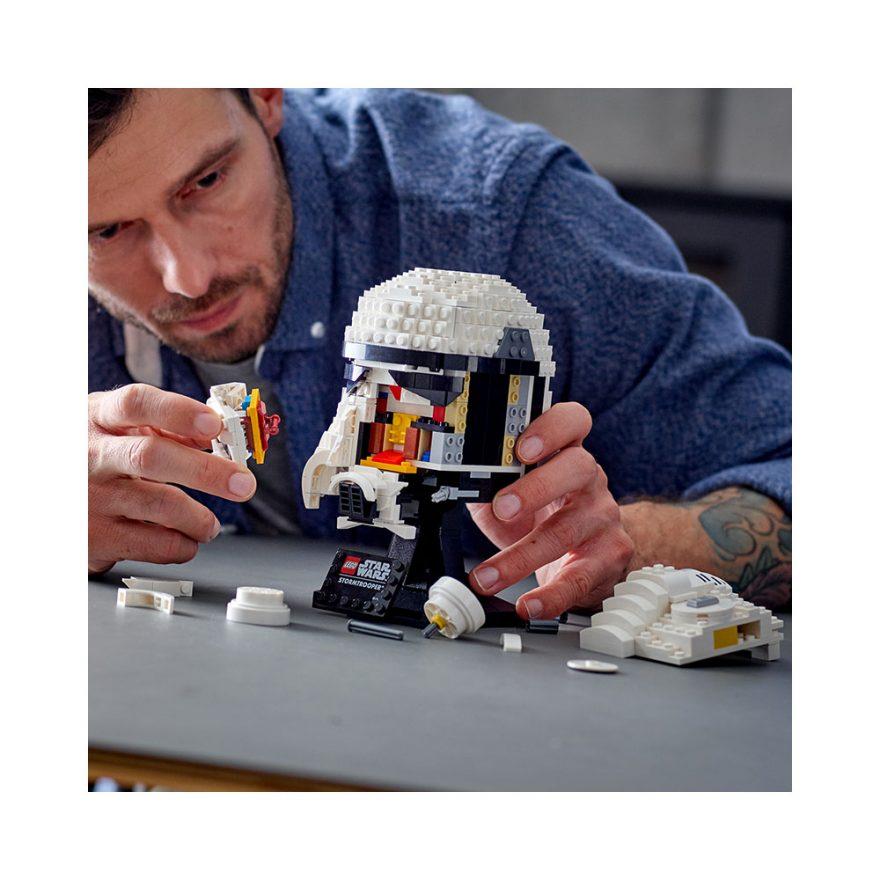 LEGO 75276  STORMTROOPER HJELM