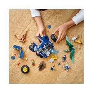 LEGO 75940  GALLIMIMUS OG PTERANODON: OP