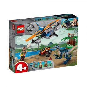 LEGO 75942  VELOCIRAPTOR: TODEKKER TIL U