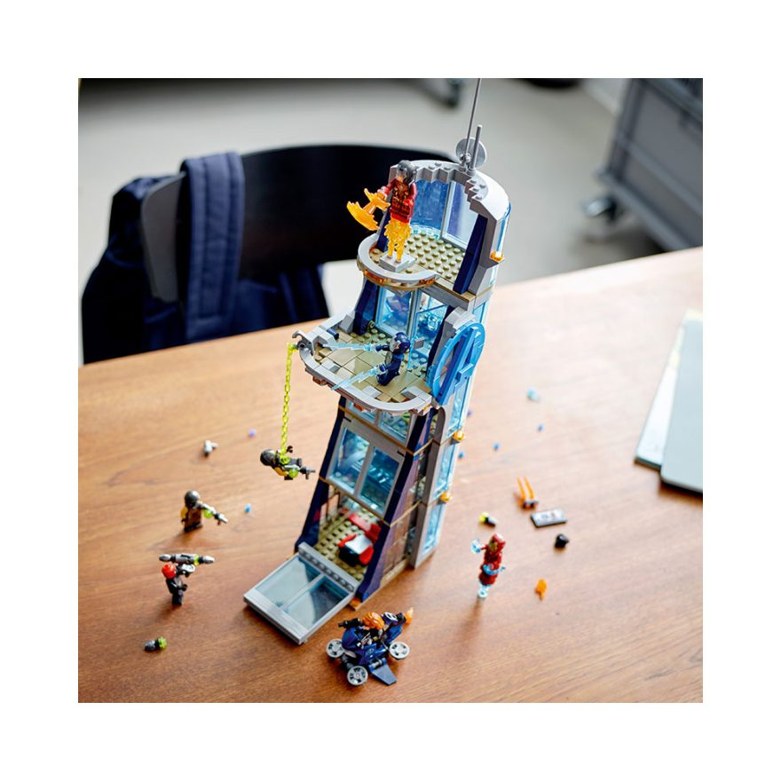 LEGO 76166  AVENGERS' TÅRNSLAG