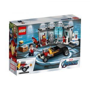 LEGO 76167  IRON MANS VÅPENKAMMER
