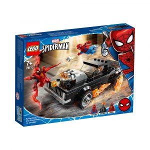 LEGO 76173 SPIDER-MAN OG GHOSTRIDER MOT