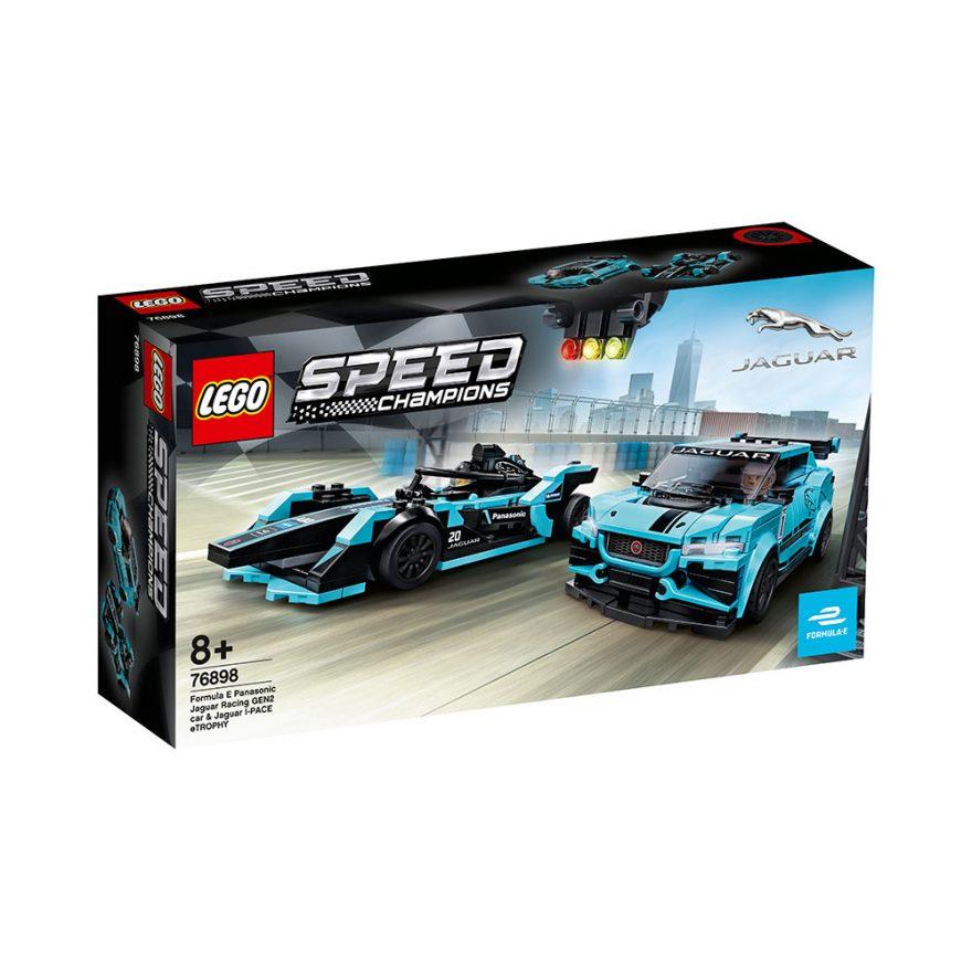 LEGO 76898 FORMULA E PANASONIC JAGUAR RA