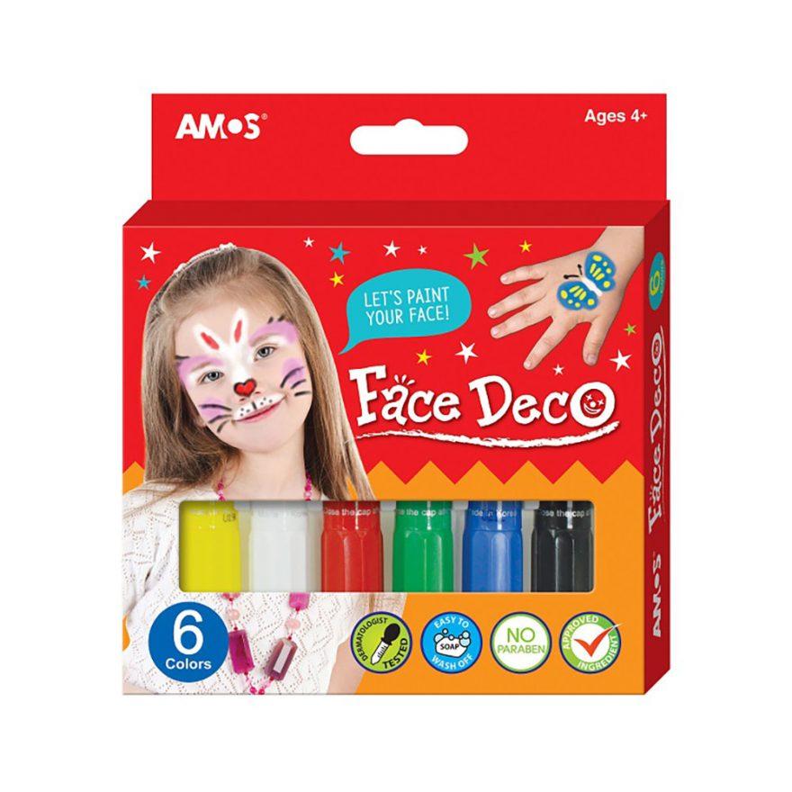 AMOS, FACE DECO, ANSIKTSMALING
