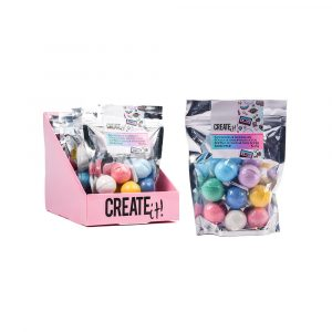 BATH BOMB MINI 8-PACK DISPL CREATE IT