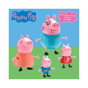 PEPPA PIG FAMILIY PACK