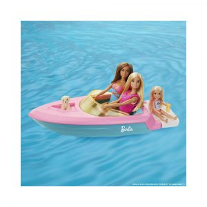 BARBIE DOLL AND BOAT