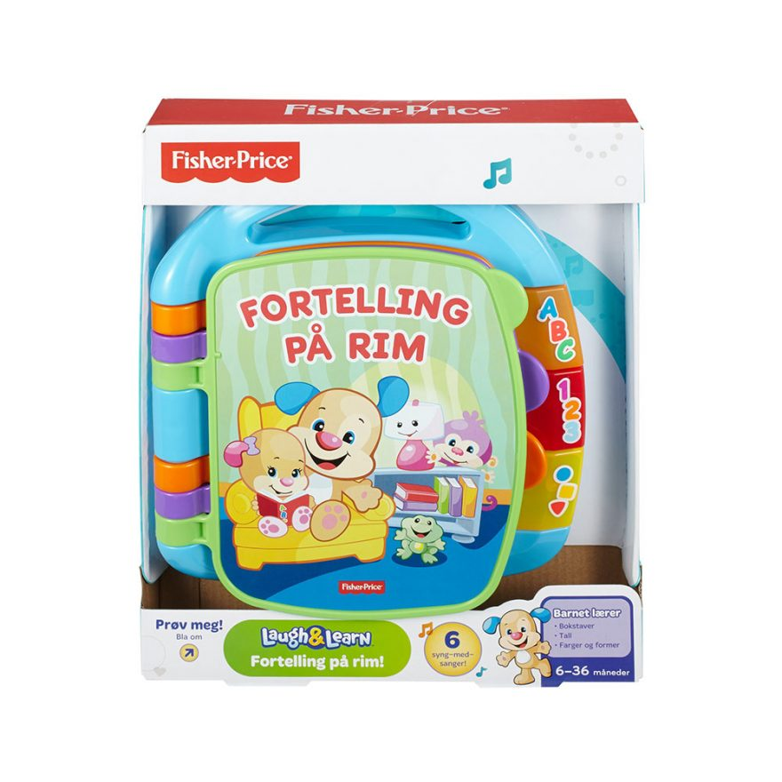 FISHER-PRICE LAUGH & LEARN STORYBOOK RHY