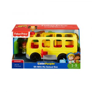 FISHER-PRICE LP SIT WITH ME SCHOOL BUS N