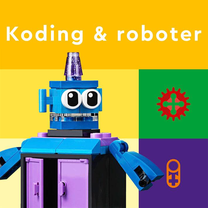 Lego kategori Koding og roboter