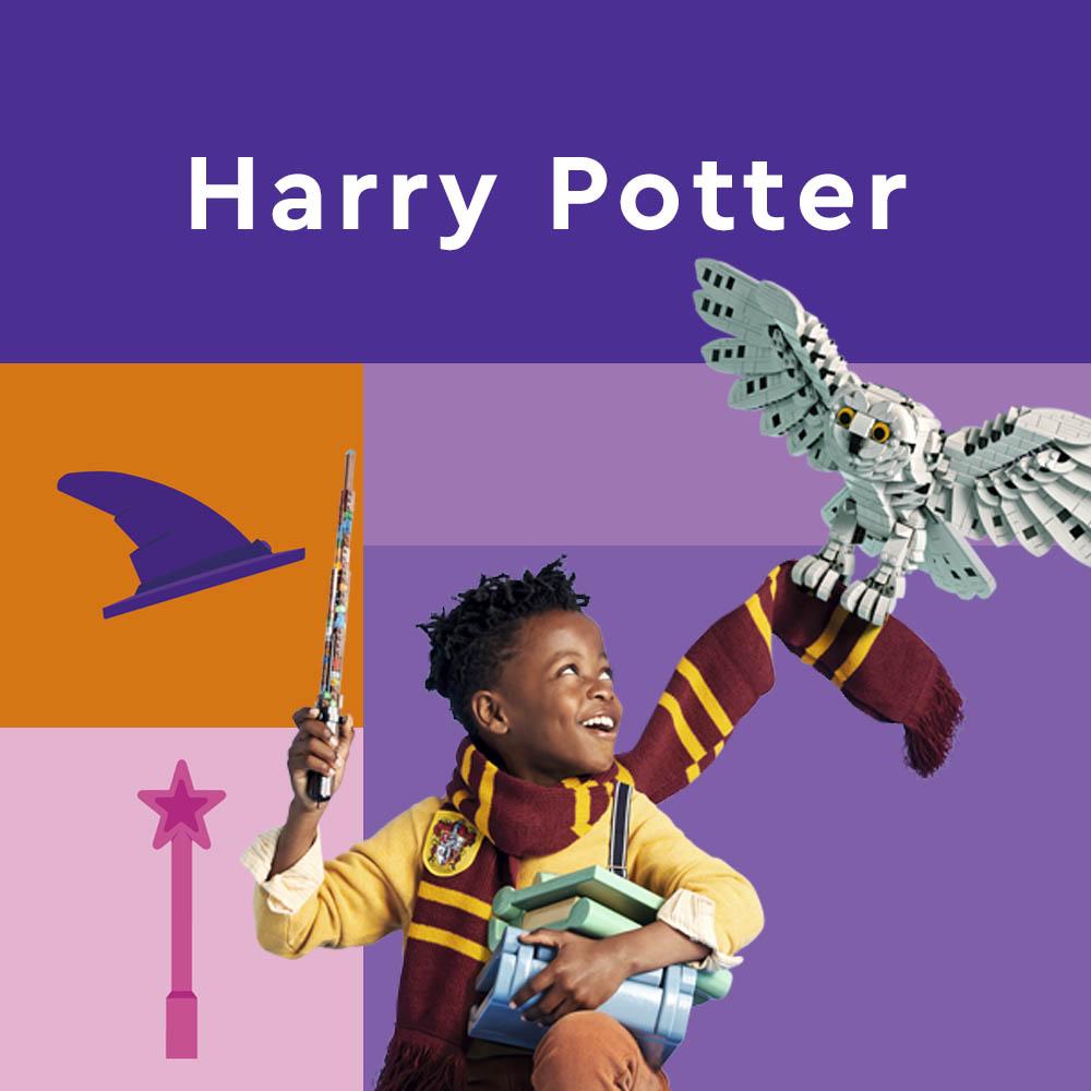 Harry Potter produkter fra Lego