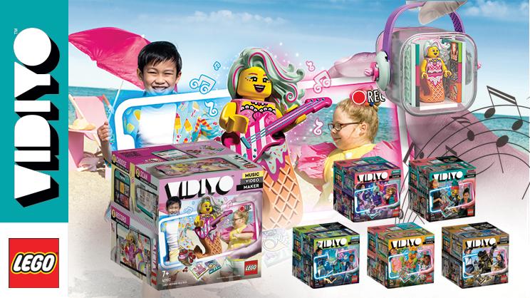 Lego vidiyo, musikk og dans