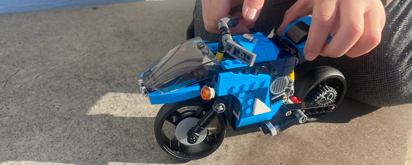 lego motorsykkel
