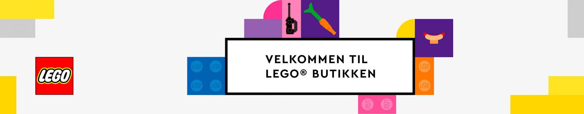 Velkommen til Lego Shopen