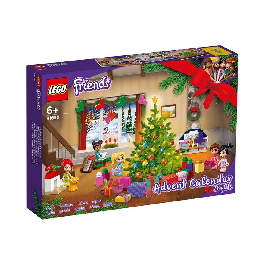 lego friends julekalender 2021