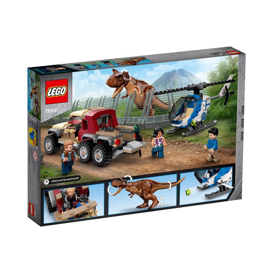 lego jurassic world carnotaurus