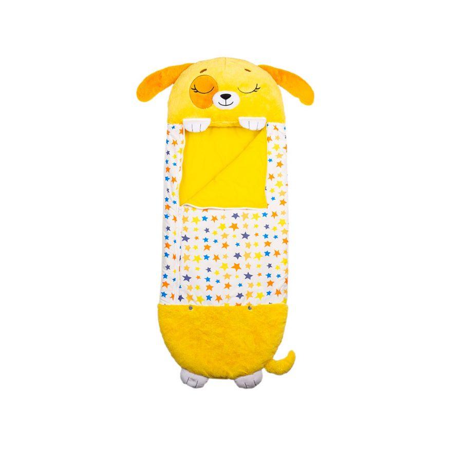 sovepose hund plysj barn 135 cm